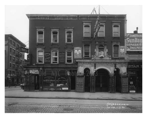 1714 1716 Lexington Avenue & 107th Street 1911 - Upper East Side, Manhattan - NYC Old Vintage Photos and Images