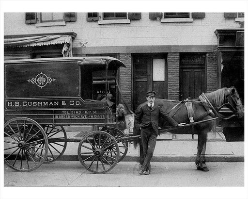 Greenwich Ave Horse Drawn Wagon Greenwich Village NYC Photos, images and photography