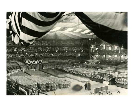 1924 Democratic National Convention at MSG Midtown Manhattan - NYC E Old Vintage Photos and Images