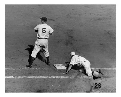 1934 World Series - Pepper Martin - Hank Greenberg  - Brooklyn NYC