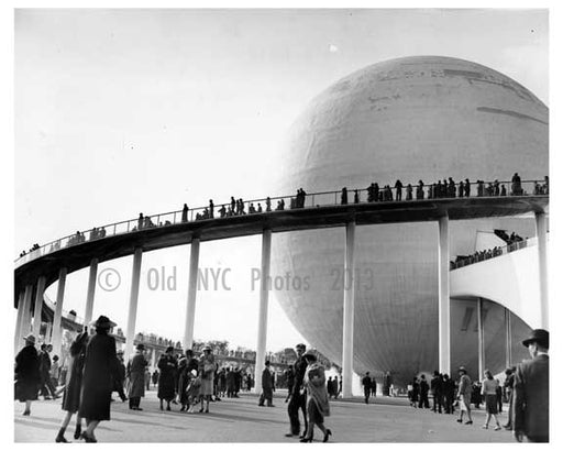 1939 Worlds Fair - Flushing - Queens - NYC Old Vintage Photos and Images