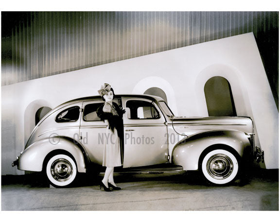 1940 Ford Deluxe in the showroom Old Vintage Photos and Images
