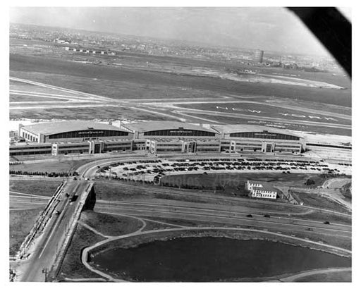 1940 La Guardia Airport Construction - East Elmhurst  - Queens - NYC Old Vintage Photos and Images