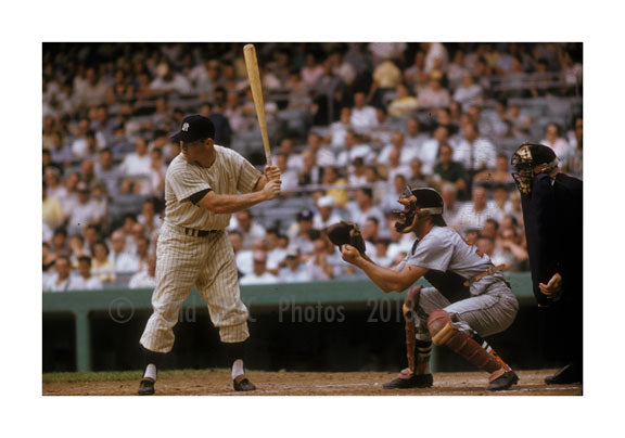 Yankees at bat 1956
