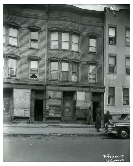 1960: 73 Osborn Street - Brownsville Brooklyn NY Old Vintage Photos and Images
