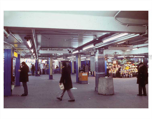 1970's Subway Station Old Vintage Photos and Images