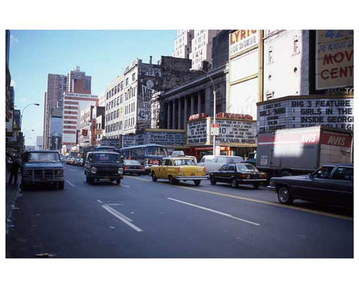 1970s Times Square X3 Old Vintage Photos and Images