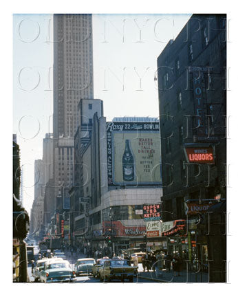 200 West 50th Street Hell's Kitchen, Manhattan 1960 Old Vintage Photos and Images