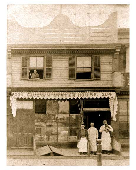 204 Court Street - early 20th century - Cobble Hill Brooklyn NY - Old Vintage Photos and Images