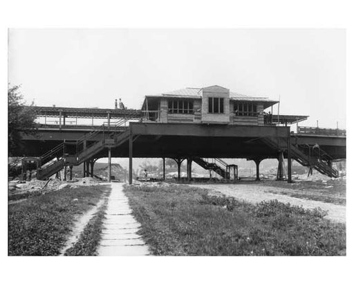 207th Street Station - Inwood - New York, NY 1906 Old Vintage Photos and Images