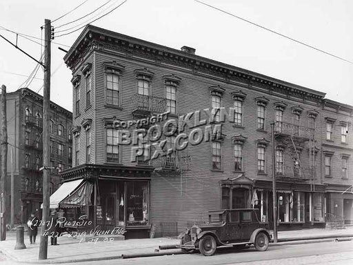 221 Union Avenue, 1930 Williamsburg Brooklyn NY Old Vintage Photos and Images