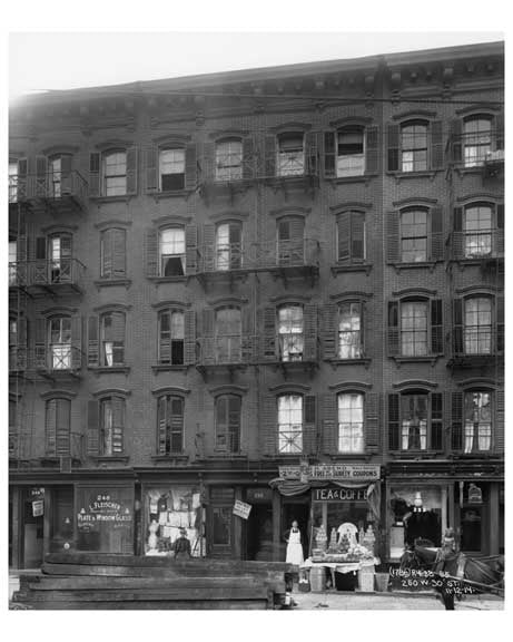 250 West 30th Street between 7th & 8th Avenues- Chelsea - Manhattan  1914 A Old Vintage Photos and Images