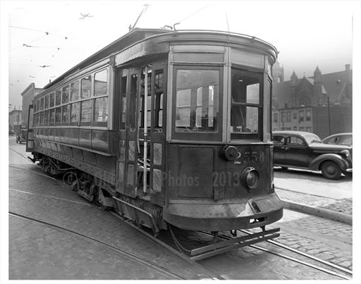 2558 Trolley Car Old Vintage Photos and Images