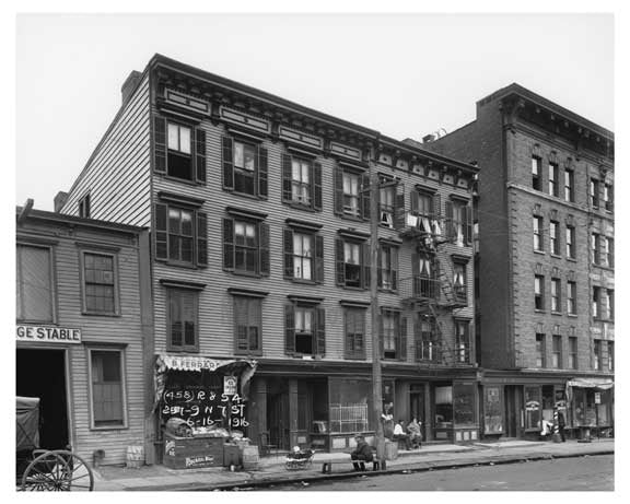 257 N 7th Street - Williamsburg - Brooklyn, NY 1916 Old Vintage Photos and Images