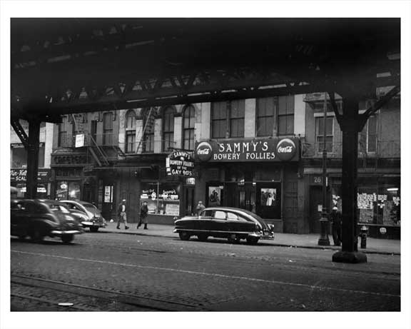 267 Bowery 1946 Old Vintage Photos and Images