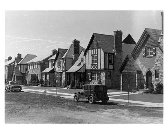 26th Ave W of 166th Street 1934 - Murray Hill -  Queens NY Old Vintage Photos and Images