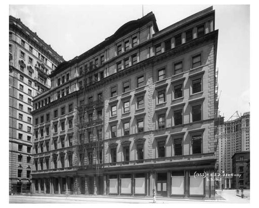 280 Broadway  1912 - Tribeca Downtown Manhattan NYC Old Vintage Photos and Images