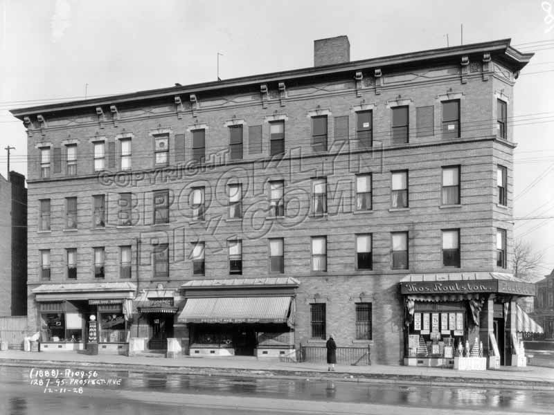 287-95 Prospect Avenue, 1928 Old Vintage Photos and Images