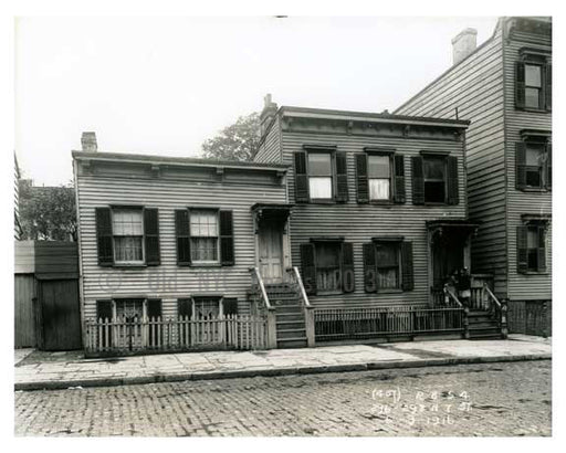296 - 298 N. 7th Street - Williamsburg - Brooklyn, NY 1916 Old Vintage Photos and Images