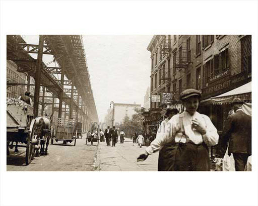 2nd Avenue & East 35th Street - Murray Hill  - Manhattan 1914 NYC Old Vintage Photos and Images