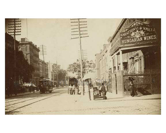 2nd Avenue & East 3rd - East Village 1875 Old Vintage Photos and Images