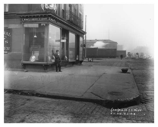 30th Street & 11th Avenue - Chelsea - NY 1914 Old Vintage Photos and Images