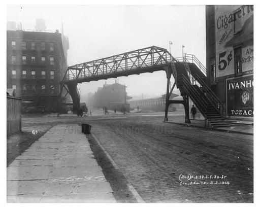 30th Street & 11th Avenue - Chelsea - NY 1914 A Old Vintage Photos and Images