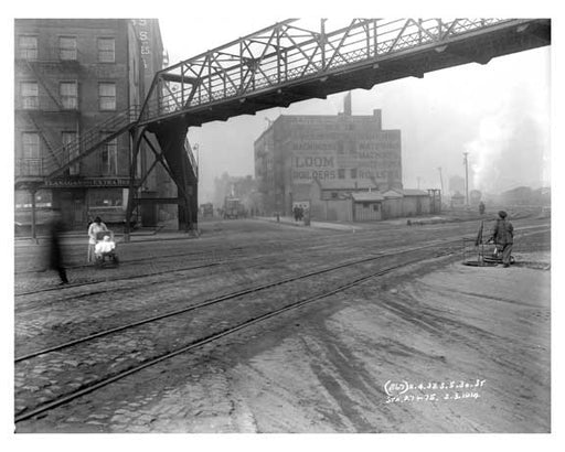 30th Street & 11th Avenue - Chelsea - NY 1914 B Old Vintage Photos and Images