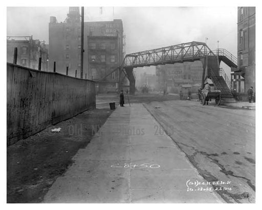 30th Street & 11th Avenue - Chelsea - NY 1914 C Old Vintage Photos and Images