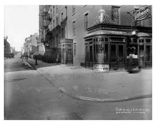 30th  Street & 7th Avenue  - Chelsea  NY 1915 Old Vintage Photos and Images