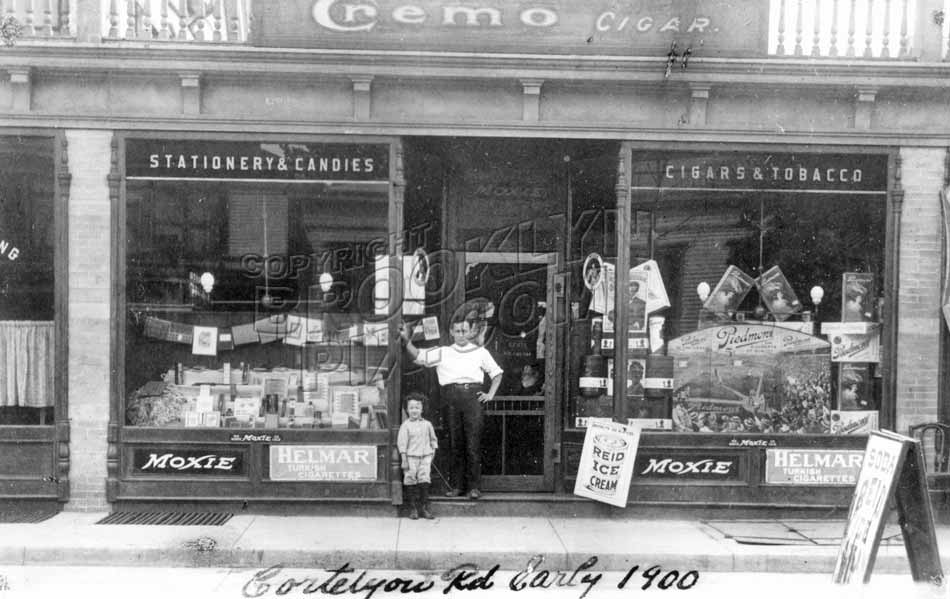 312 Cortelyou Road, c.1910 Old Vintage Photos and Images