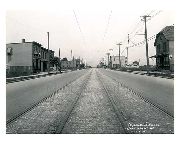 31st Street between 34th & 35th Ave  - Astoria - Queens, NY 1913