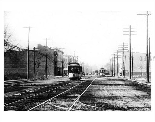 32nd Street Trolley Old Vintage Photos and Images