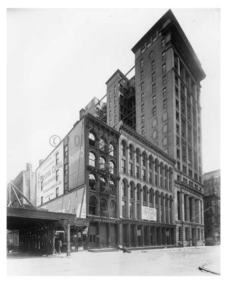 334 Broadway  1912 - Tribeca Downtown Manhattan NYC Old Vintage Photos and Images