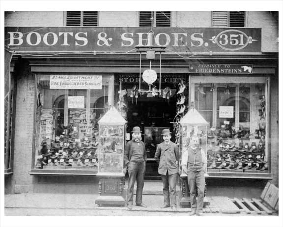 351 Grand Street Lower East Side - Manahattan 1890s Old Vintage Photos and Images