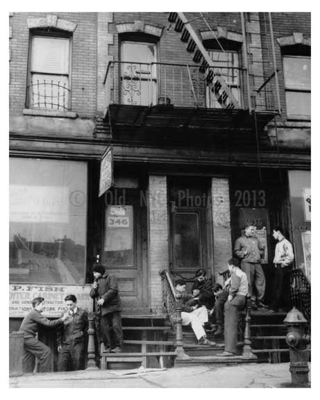 364 Rockaway Avenue 1940s Brownsville -  Brooklyn NY Old Vintage Photos and Images