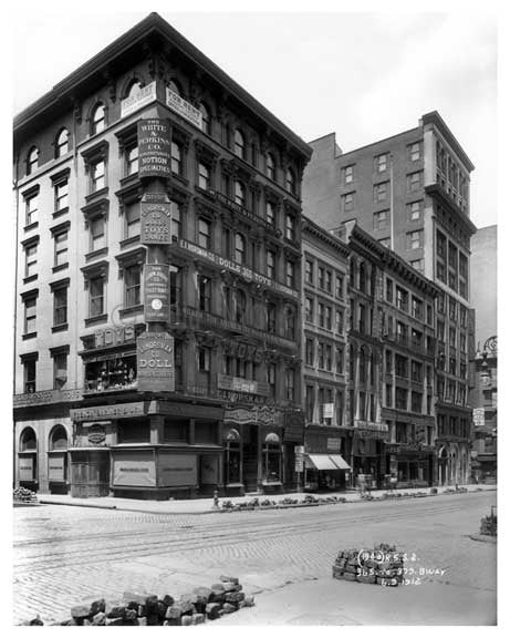 365 to 379 Broadway   1912 - Tribeca Downtown Manhattan NYC Old Vintage Photos and Images