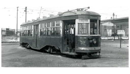 39 Street Ferry Loop- 8th Ave Trolley Line - Brooklyn NY Old Vintage Photos and Images