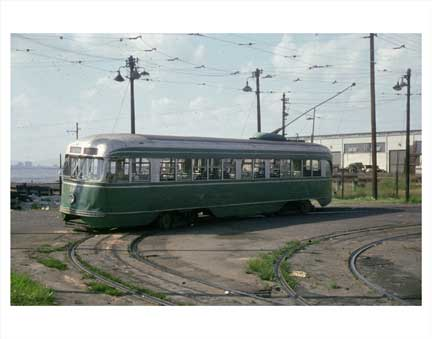 39th St Trolley - Brooklyn NY Old Vintage Photos and Images