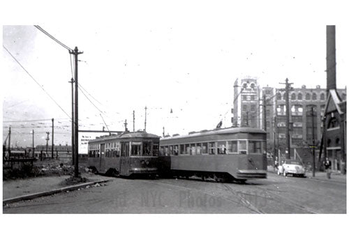 39th Street & 2nd Ave Trolley Old Vintage Photos and Images