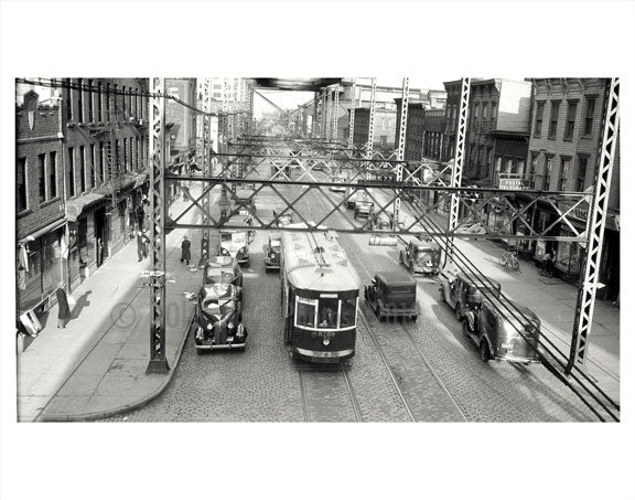 3rd Ave & 40th Street - Hamilton Ave Line Old Vintage Photos and Images