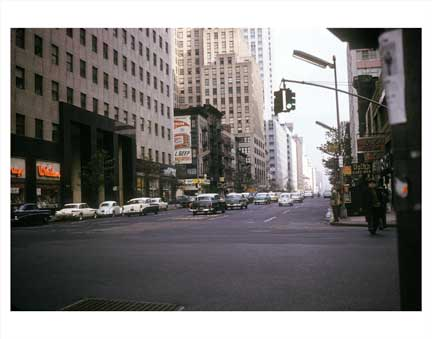 3rd Ave & 42nd St Old Vintage Photos and Images