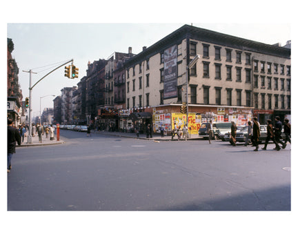 3rd Ave & 8th St - Lower East Side - Manhattan - New York, NY Old Vintage Photos and Images