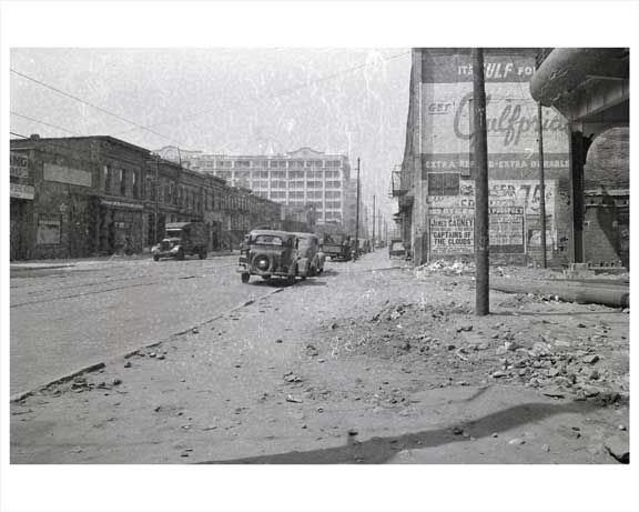 3rd Avenue  NE  39th 1942 Street Sunset Park - Brooklyn NY Old Vintage Photos and Images