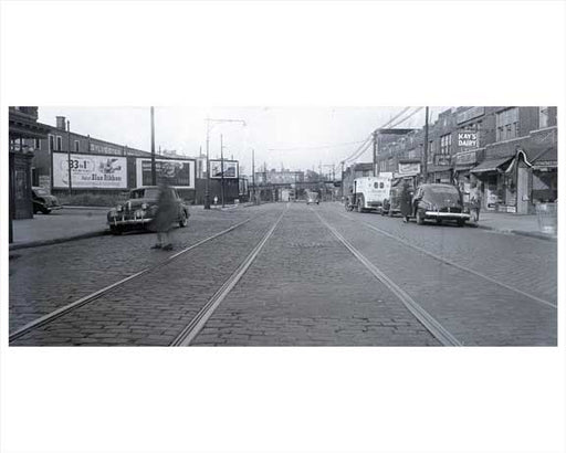3rd Avenue  NE at 58th 1940 Street Sunset Park - Brooklyn NY Old Vintage Photos and Images
