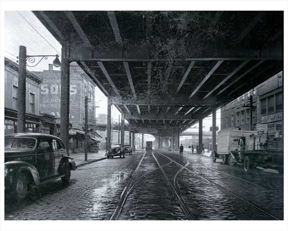 3rd Avenue  SW  39th Street Sunset Park - Brooklyn NY Old Vintage Photos and Images