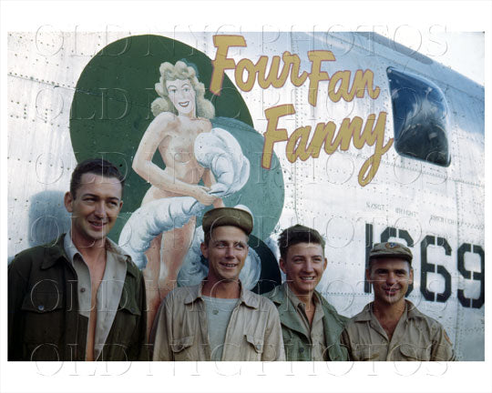 4 Fan Fanny Bomber Samar 1944 Old Vintage Photos and Images