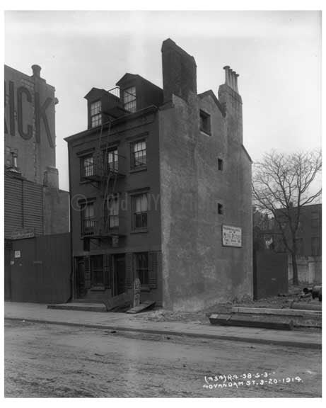 40 Van Dam Street - Tribeca Manhattan, NY 1914 Old Vintage Photos and Images