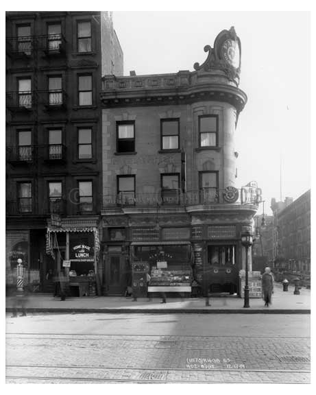 402  8th Avenue - Chelsea - Manhattan  1914 Old Vintage Photos and Images
