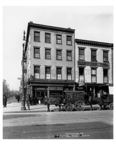 403  8th Avenue - Chelsea - Manhattan  1914 Old Vintage Photos and Images